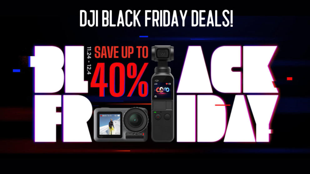 Best DJI Black Friday Deals 2019: Drones, Gimbals & Accessories! Banner Image