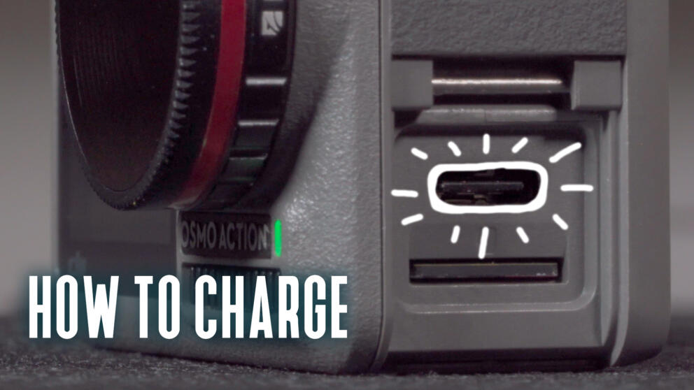 Osmo Action: How To Charge & Battery Life Banner Image