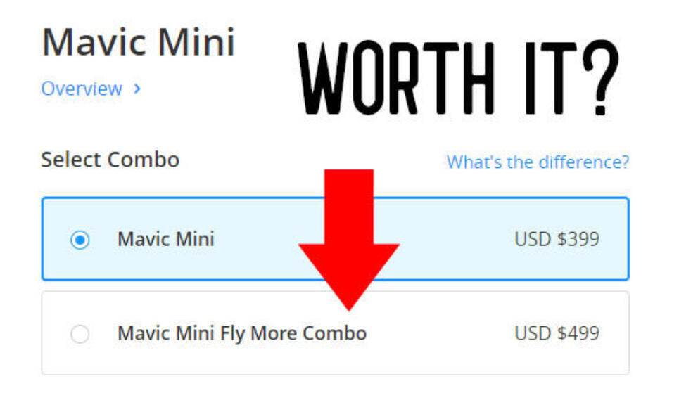 Is the Mavic Mini Fly More Combo Worth It? Banner Image
