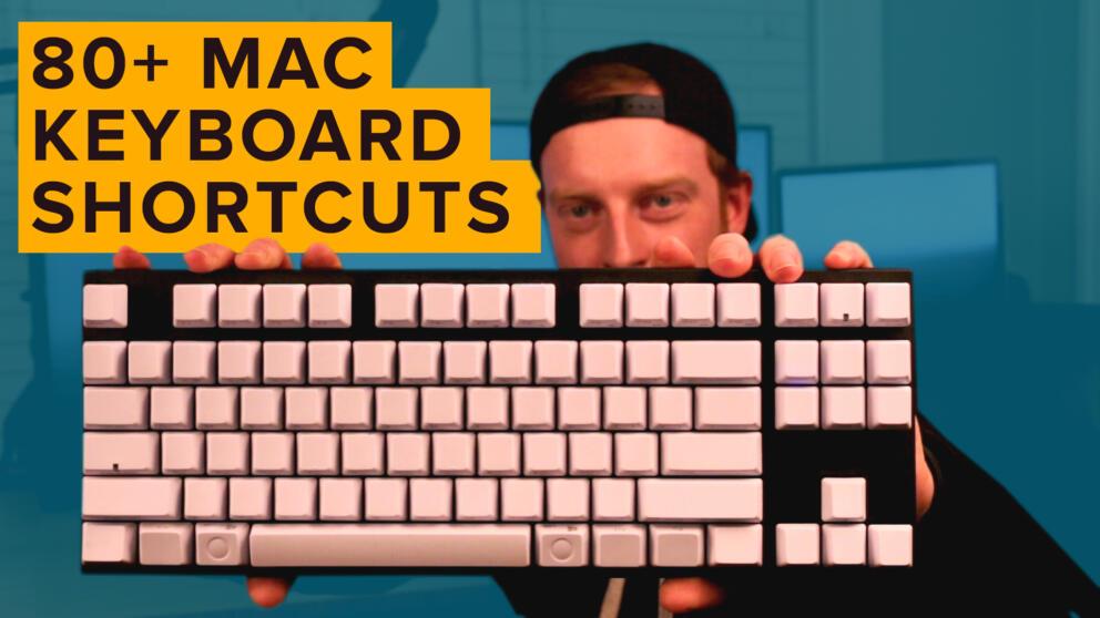 Keyboard Cardio: 80+ Mac Keyboard Shortcuts to Master OSX Banner Image
