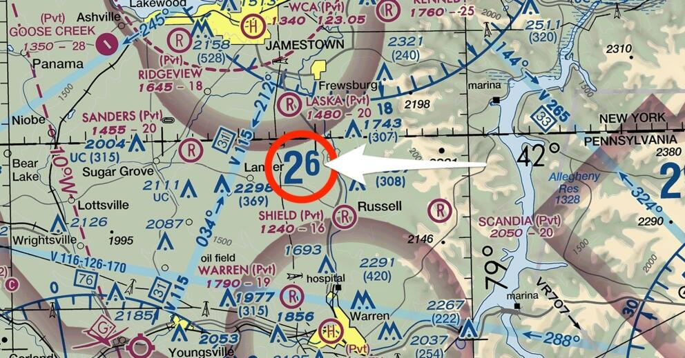 How to Calculate the Maximum Elevation Figure (MEF) on a Sectional Chart Banner Image