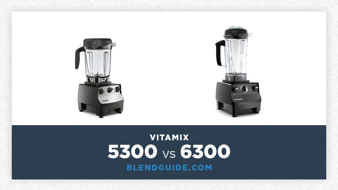 Vitamix 5300 Vs Vitamix 6300