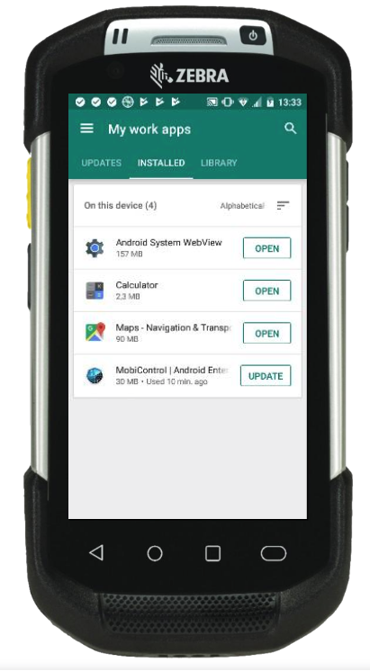 Android Enterprise Agent Update