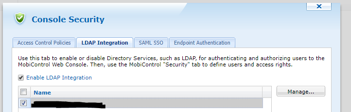 LDAP MS Active Directory Group Authentication