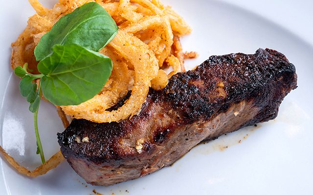 Bluewater grille steak image
