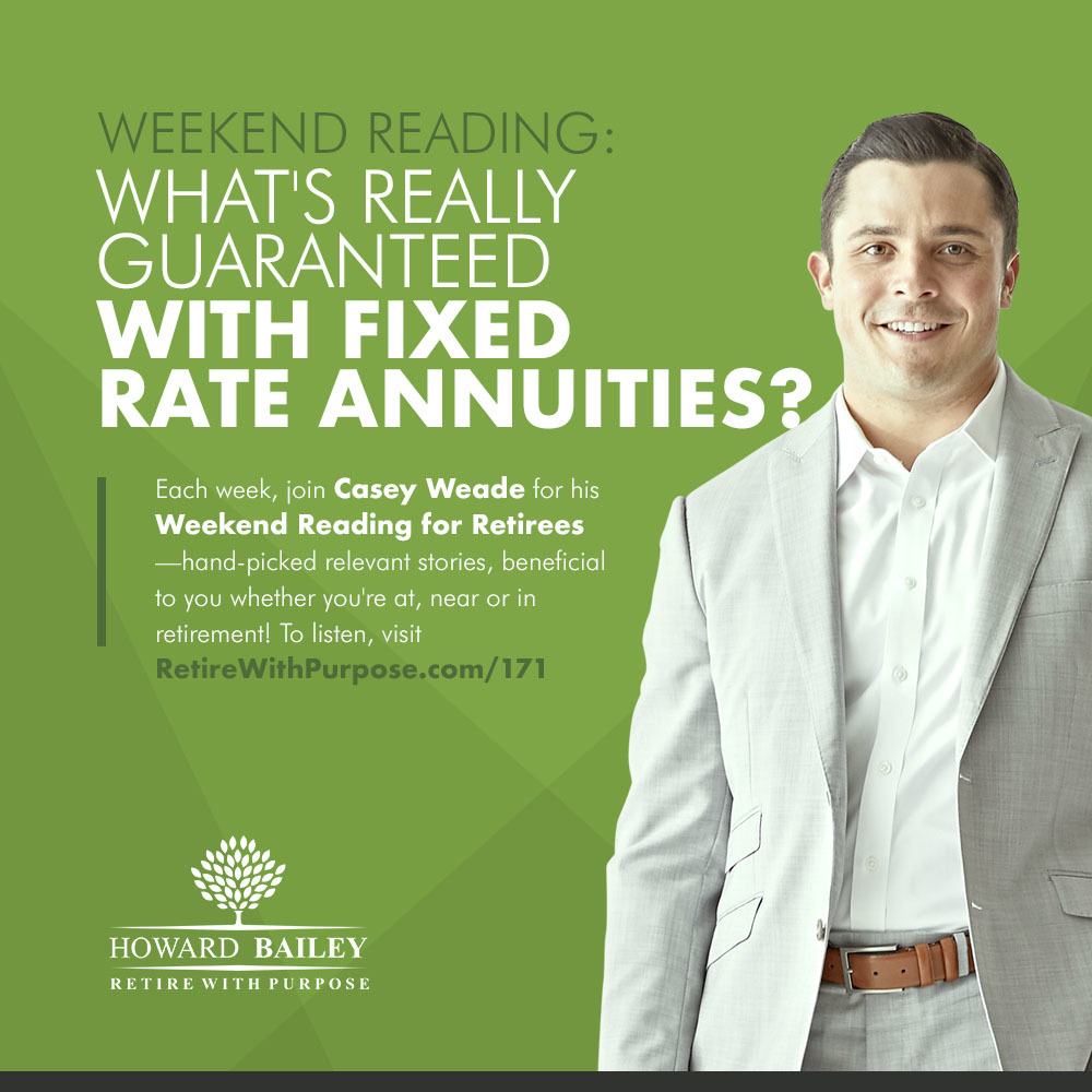 171 Whats Really Guaranteed With Fixed Rate Annuities