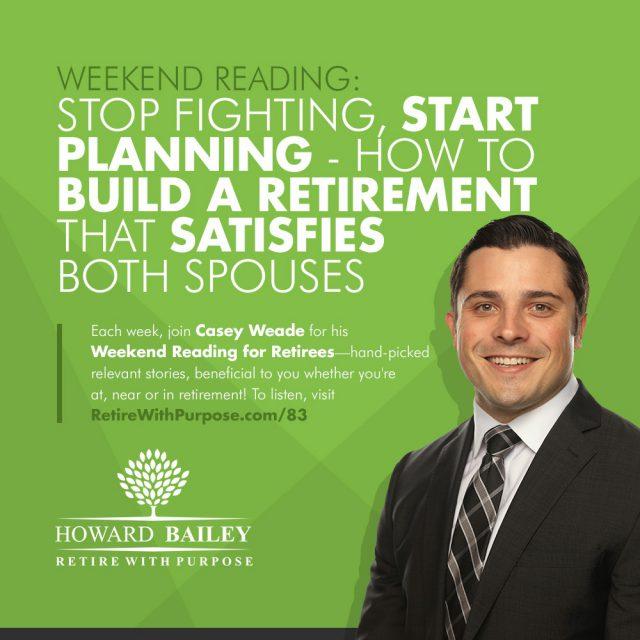 Build a Retirement That Satisfies Both Spouses