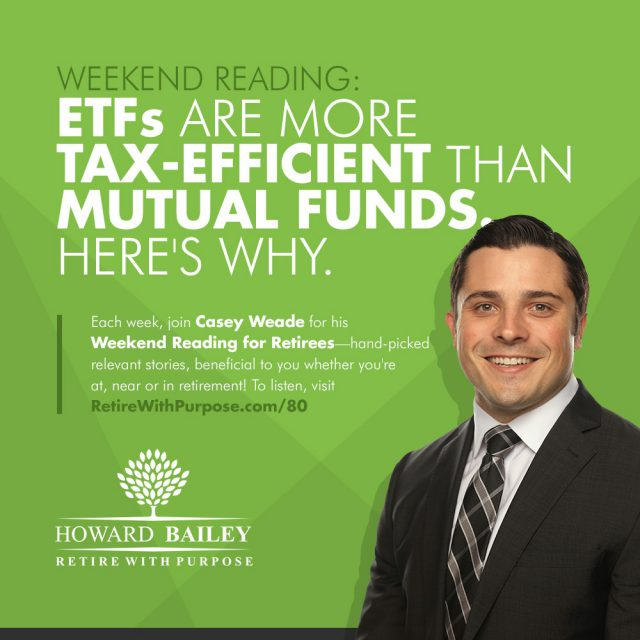 ET Fs Are More Tax Efficient Than Mutual Funds