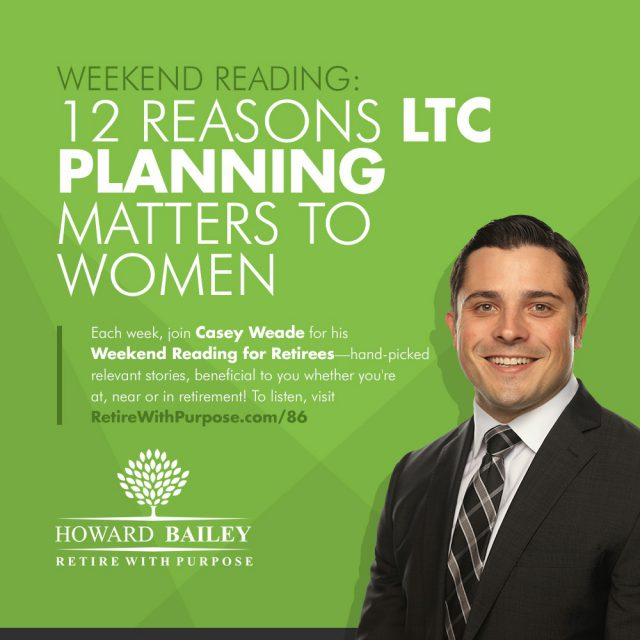 Long Term Care Planning Casey Weade