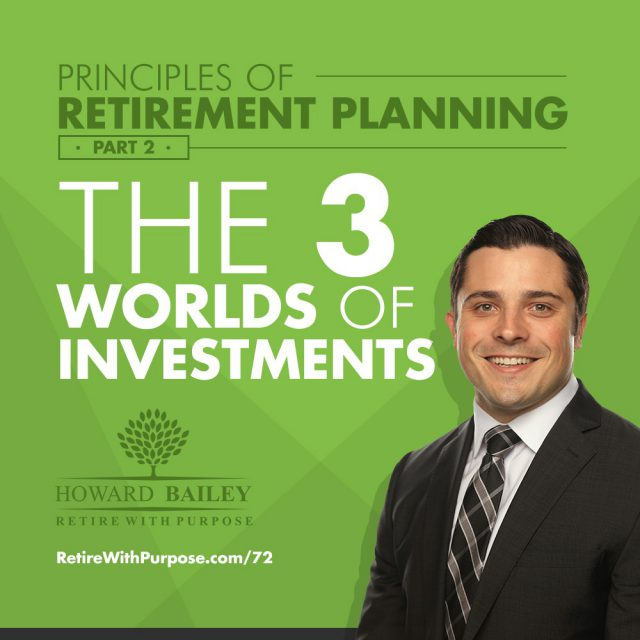 Principles of Retirement Planning Part 2 The 3 Worlds of Investments