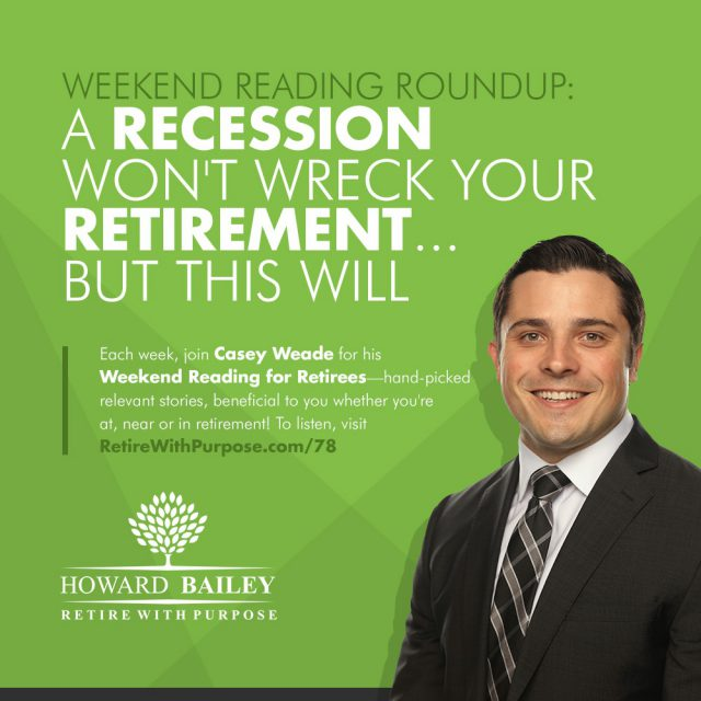 Recession Wont Wreck Your Retirement But This Will