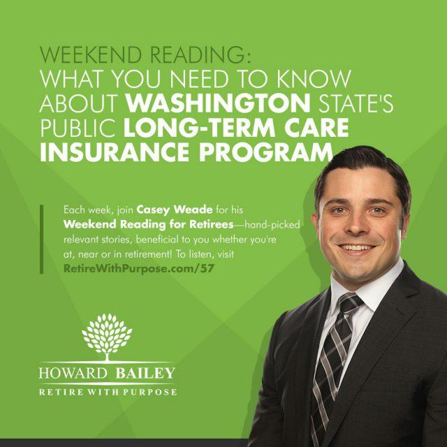 Washington States Public Long Term Care Insurance Program