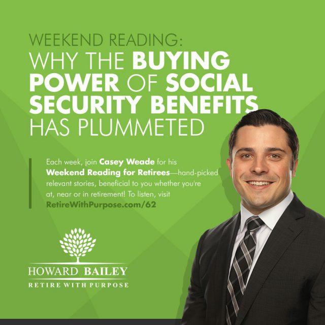 Buying power of social security casey weade