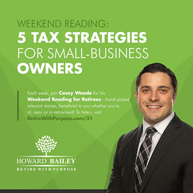 Casey weade 5 tax strategies for small business