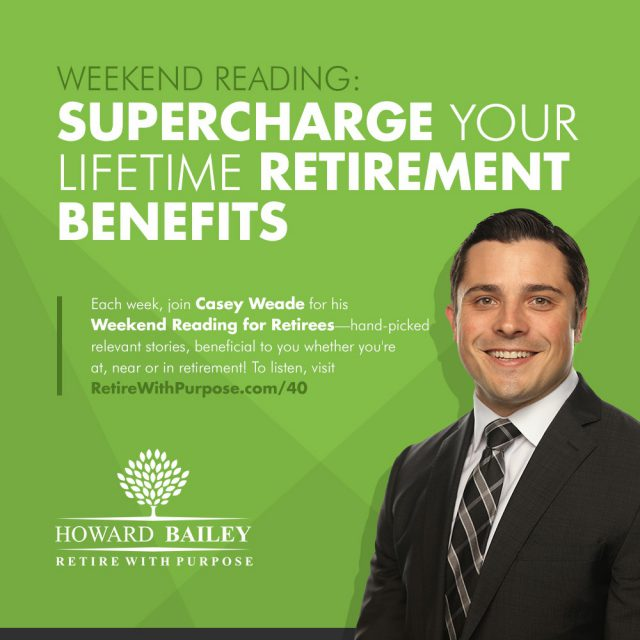Casey weade lifetime retirement benefits