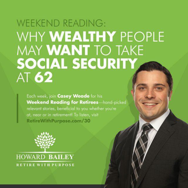 Casey weade social security at 62