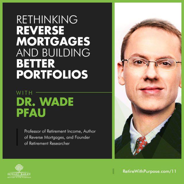 Dr wade pfau reverse mortgages