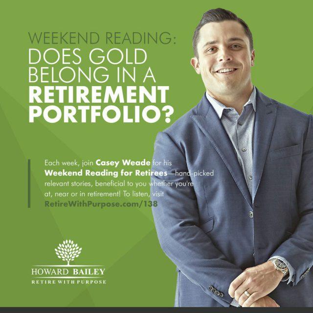 Gold retirement portfolio