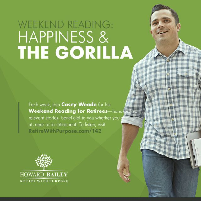 Happiness and the gorilla
