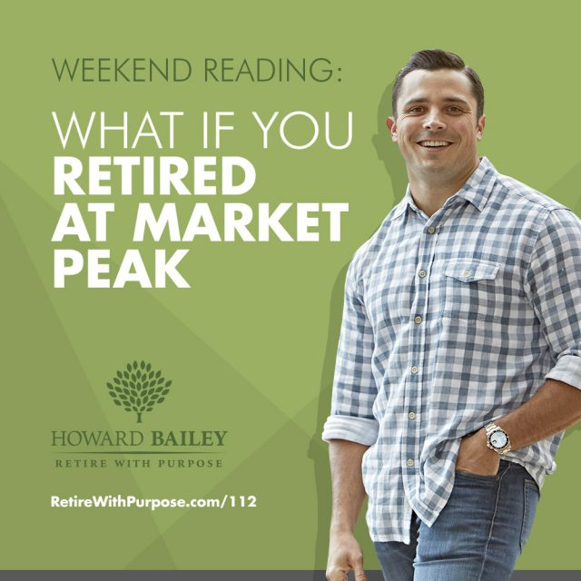 Market peak retirement