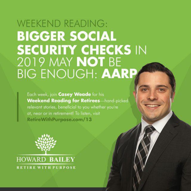 Social security checks weekend reading 13 casey weade