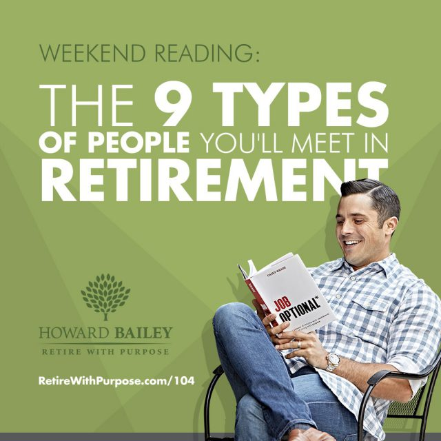 The 9 types of people youll meet in retirement