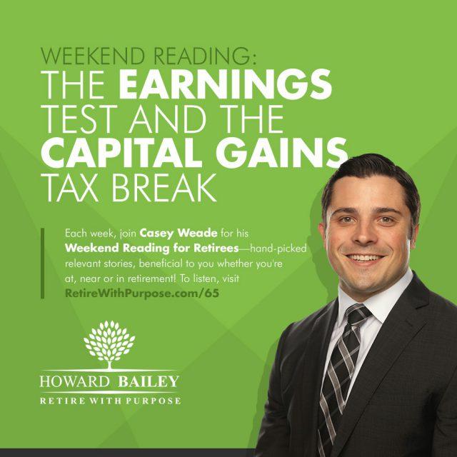 The earnings test