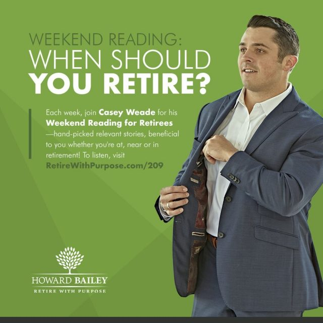 When should you retire casey weade