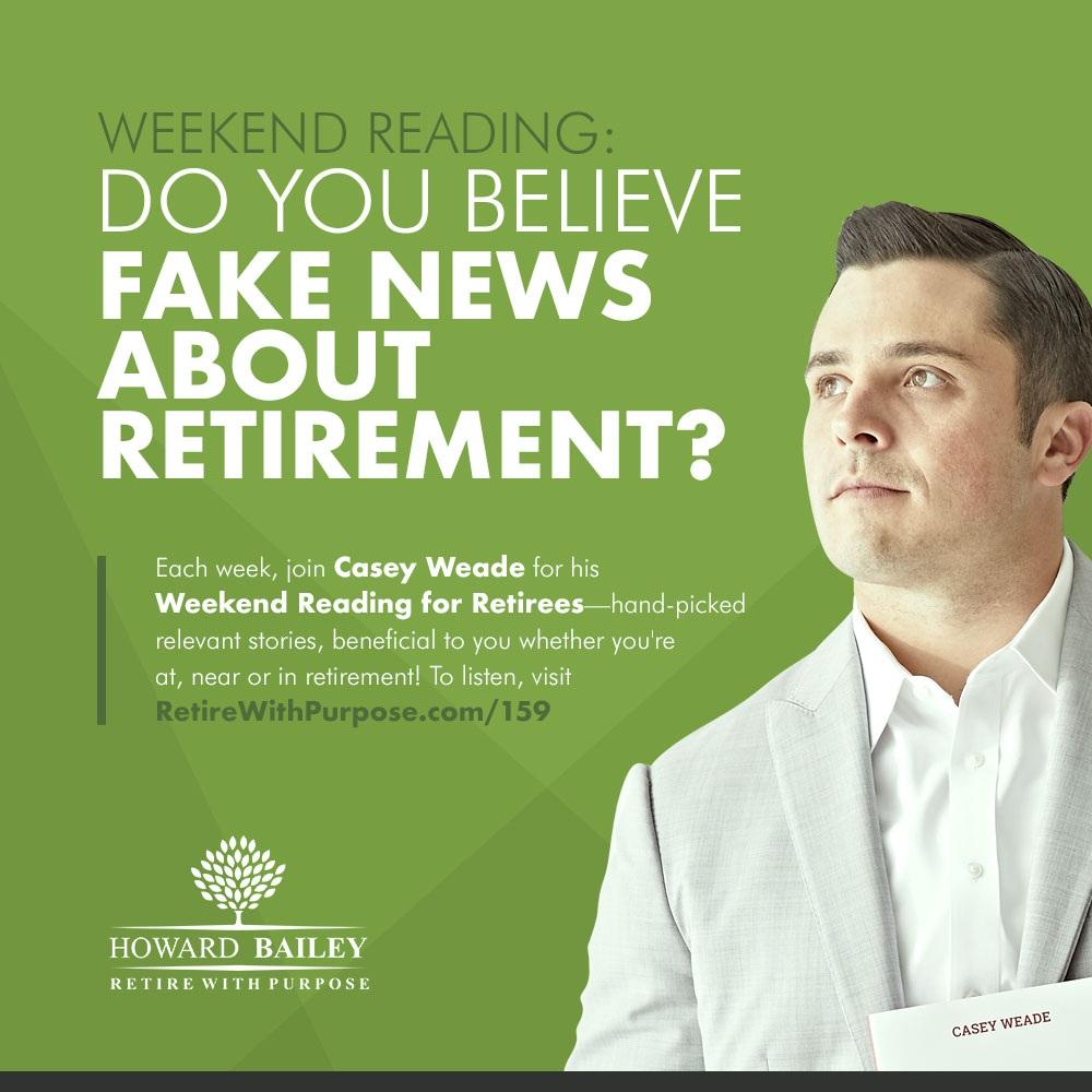 Retirement fake news