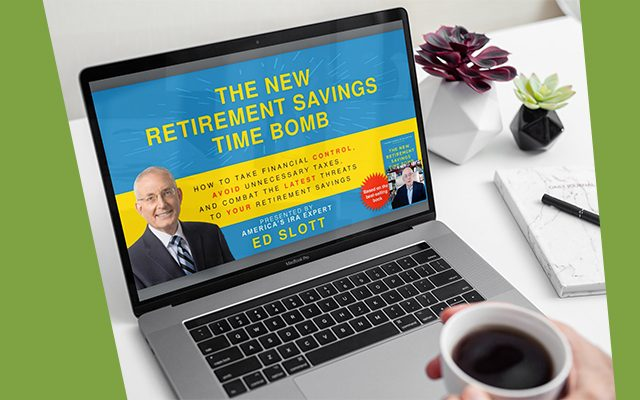 New retirement savings time bomb banner
