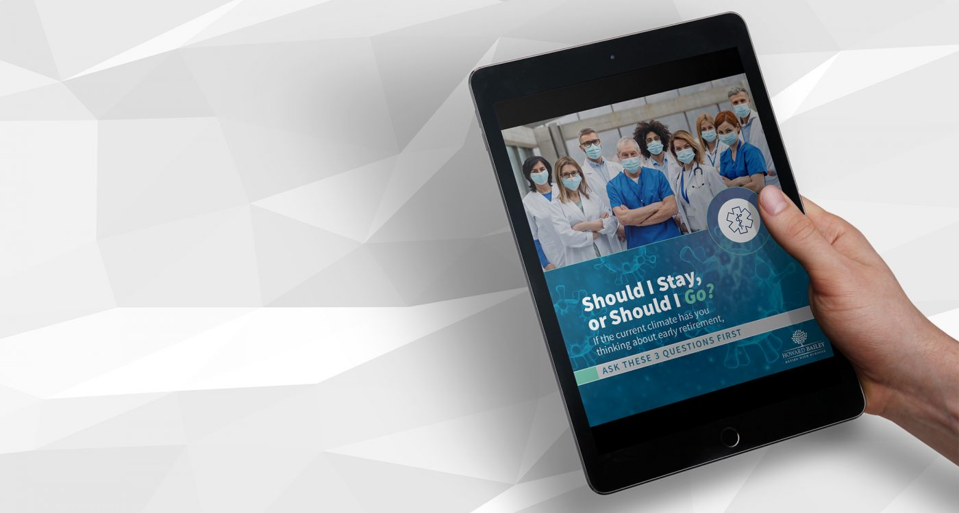 Health care retirement guide banner