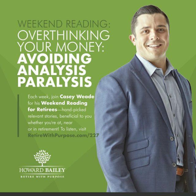 Avoiding analysis paralysis casey weade