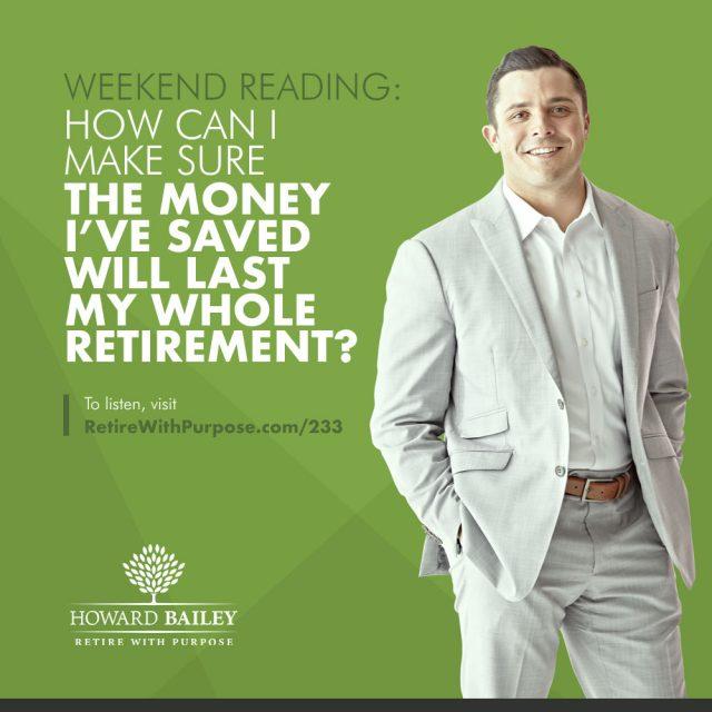 Enough money for retirement