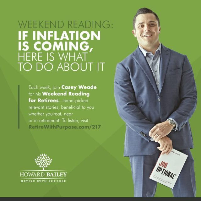 Inflation is coming casey weade