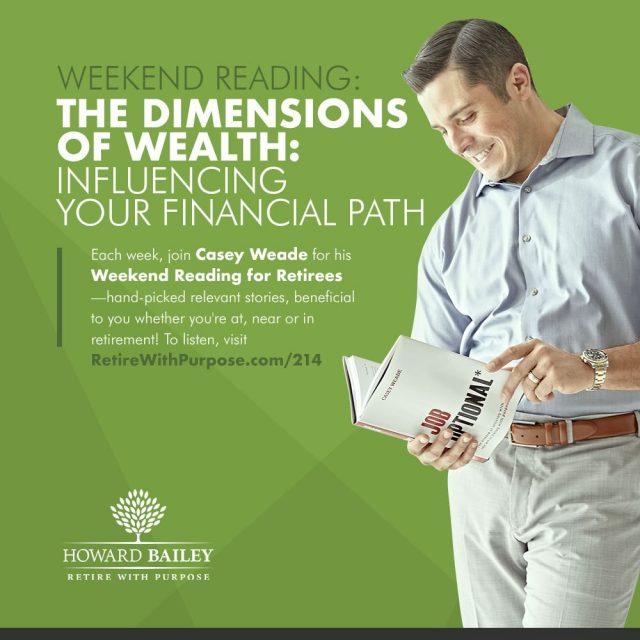 Influencing financial path casey weade