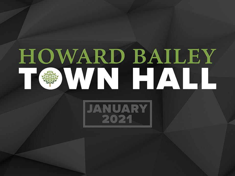 Howard bailey town hall page