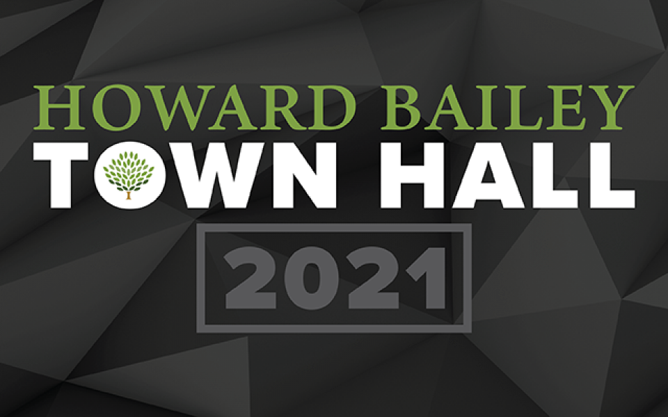 Town hall 2021 website graphic