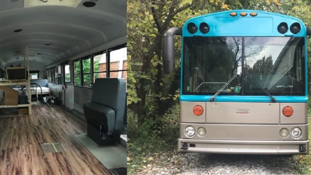 School bus to camper gene