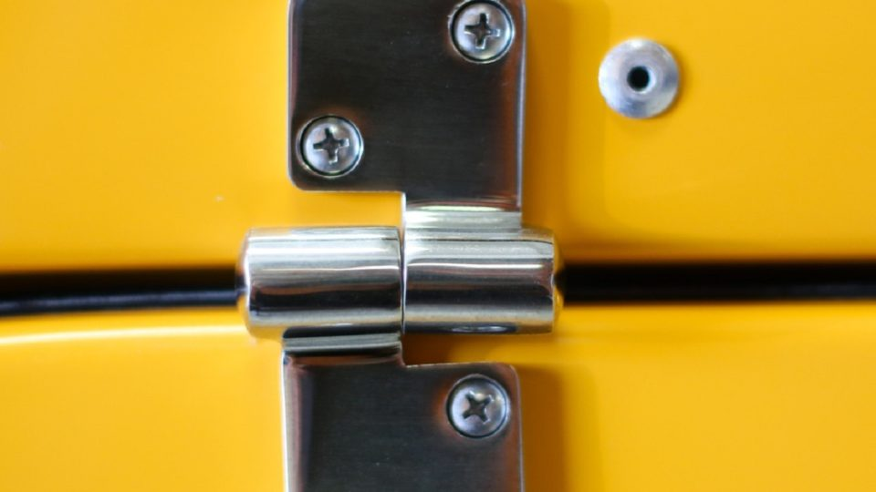 Kerlin bus sales luggage box stainless latch