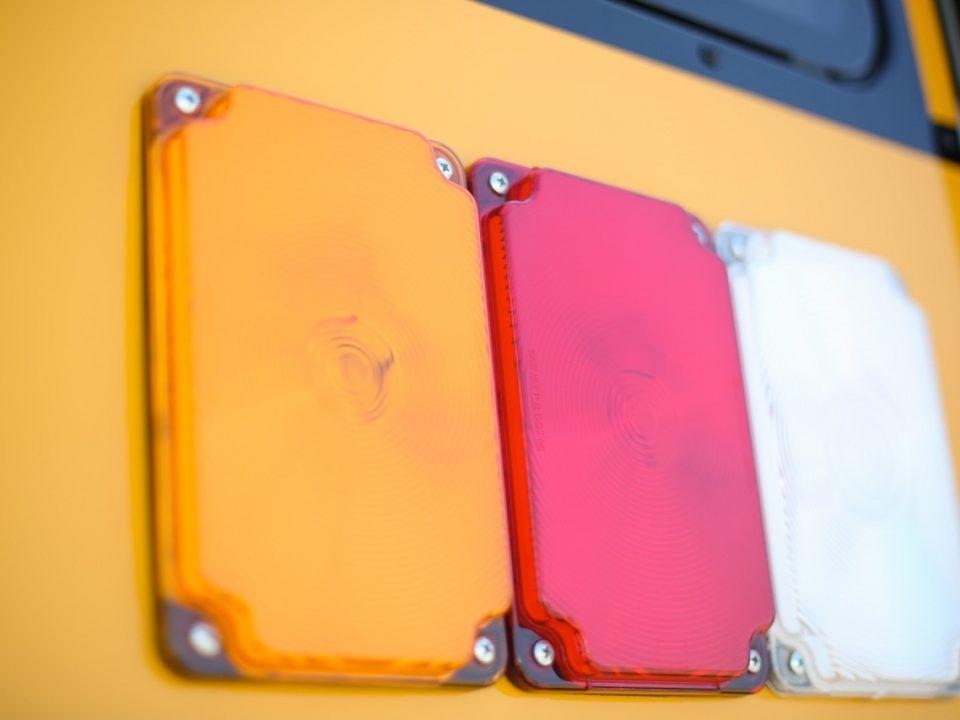 Kerlin bus sales rear lights