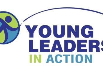 Young leaders in action logo