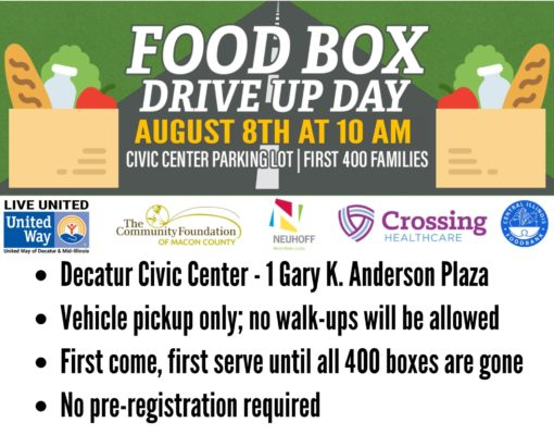 Food Box Flyer August 8