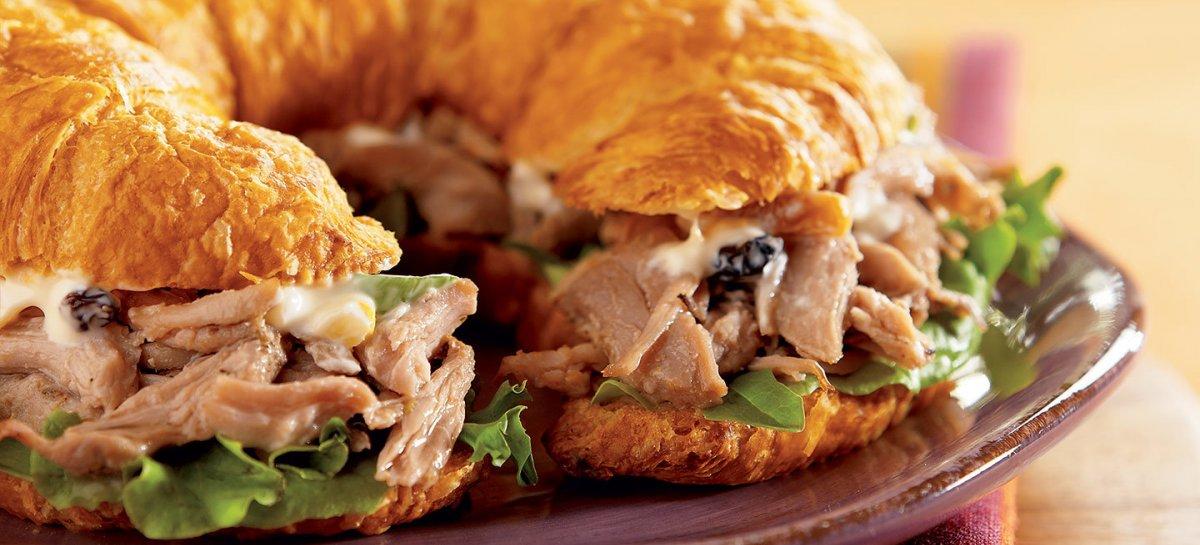 Duck a lorange sandwich
