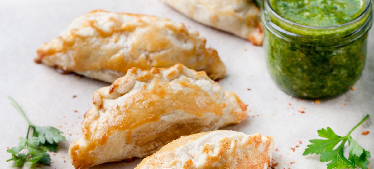Duck breast mojito empanada