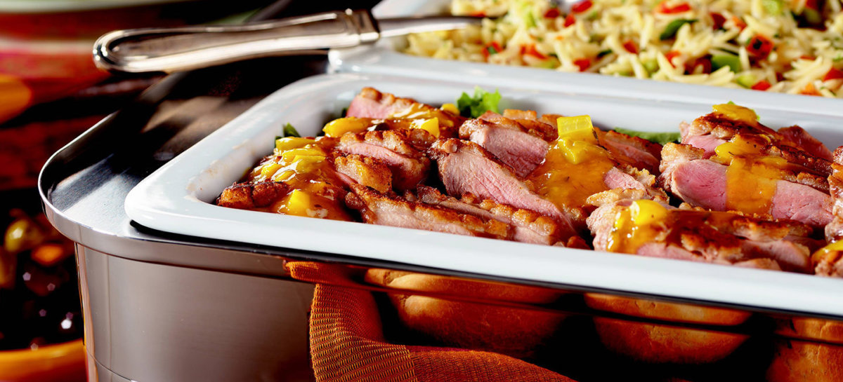 Duck with preserved lemons and olives