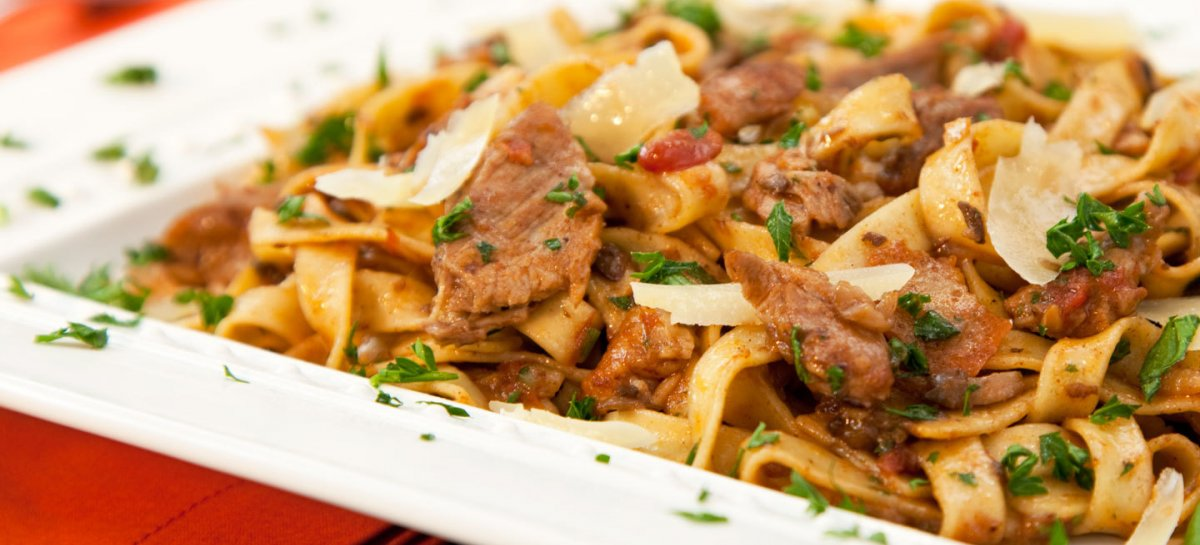 Harvest duck ragu