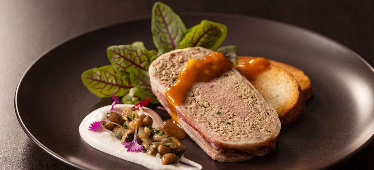 New years duck terrine