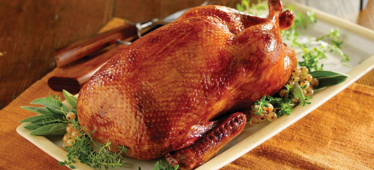 Roasted whole duck basic recipe for crispy skin