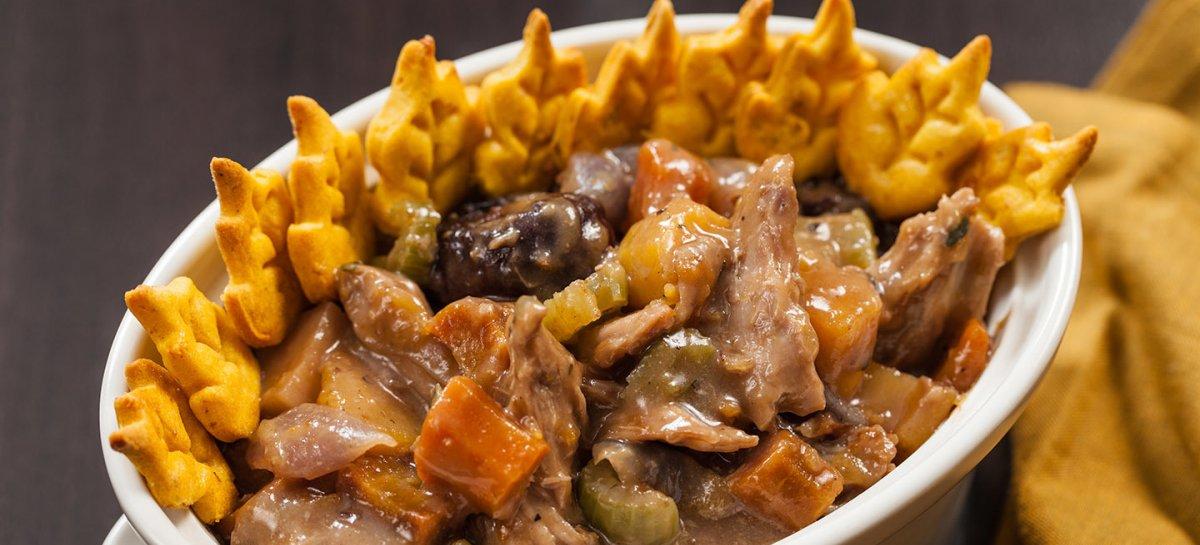 Spiced duck pot pie