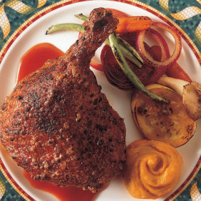Char su roasted duck